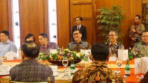 Menko Maritim Luhut B. Pandjaitan menghadiri Working Dinner antara Gubernur BI, Pemerintah Pusat dan Pemerintah Daerah di Grand Senyiur Balikpapan
