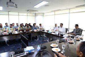 Menko Luhut Terima Delegasi 12 Negara Pasifik Peserta Training Meteorologi