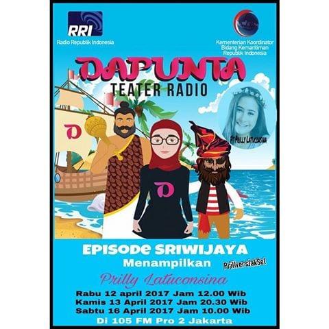 """Teater Radio """"DAPUNTA"""" Episode: Sriwijaya 2017"""