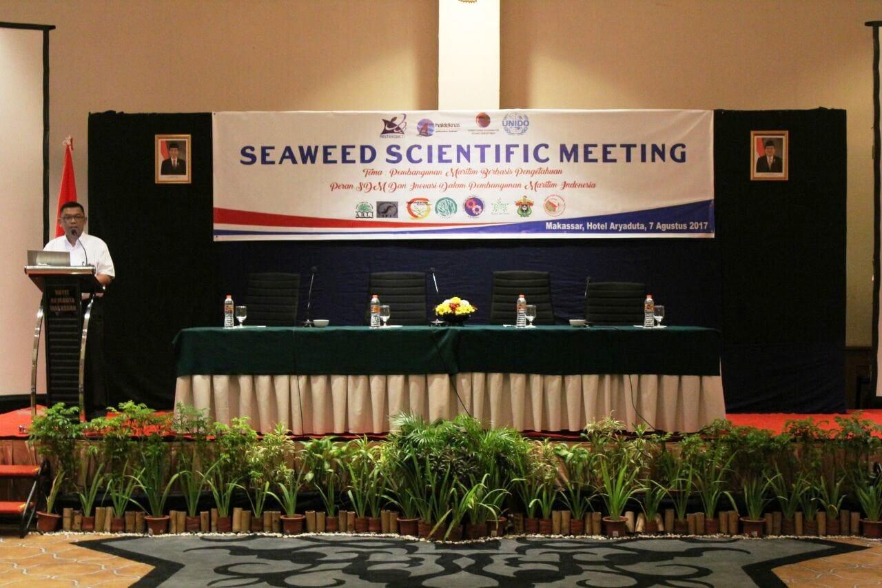 Indonesia Sangat Potensial Kembangkan Industri Rumput Laut