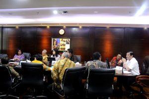 Menko Luhut Rapat Dengan Rektor UGM