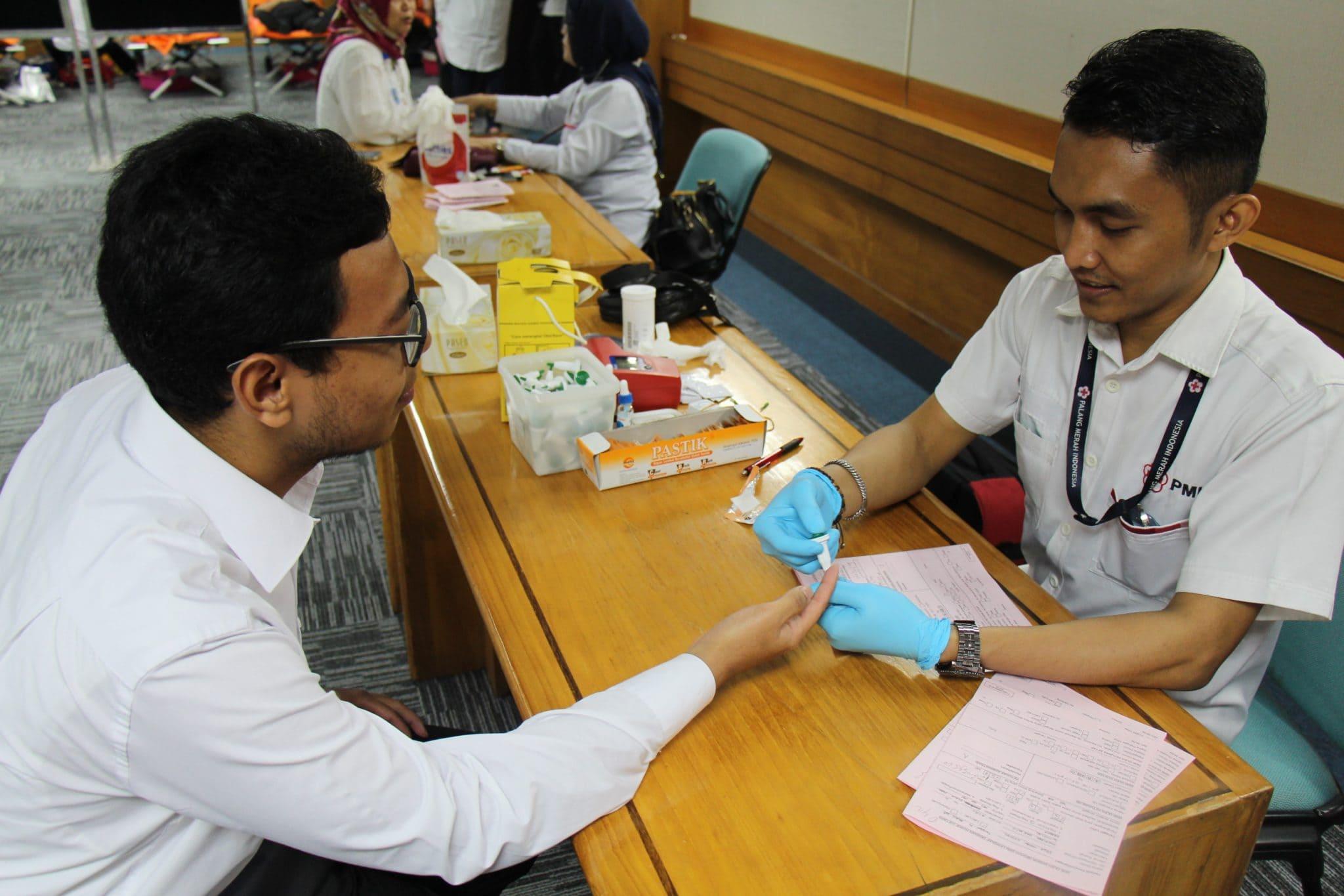 Sambut HUT RI, Kemenko Maritim Adakan Kegiatan Donor Darah