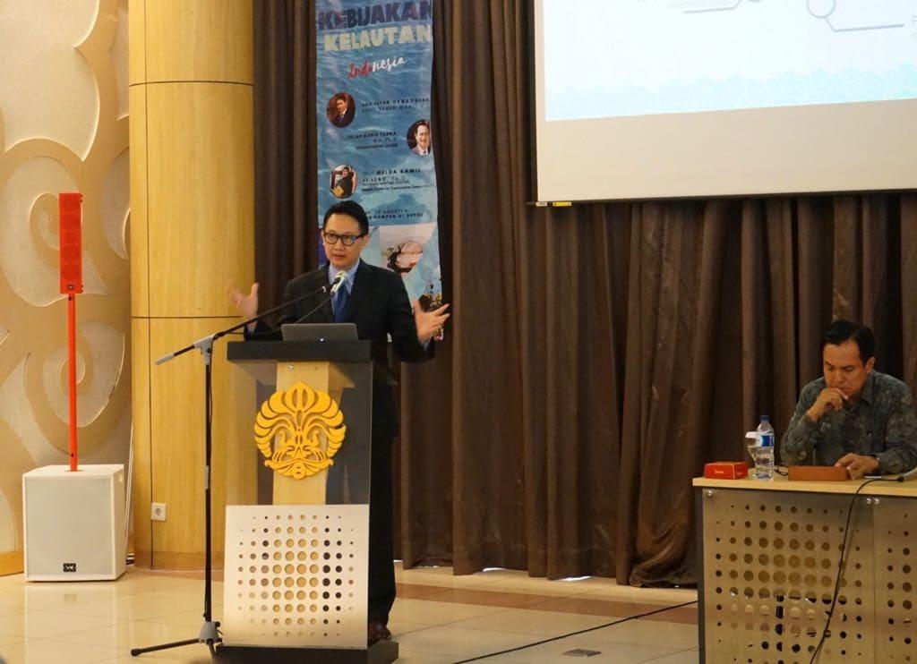 Deputi Bidang Koordinasi Kedaulatan Maritim Hadir dalam Maritime Talk: Kebijakan Kelautan Indonesia