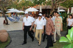 Menko Luhut Site Visit Sekitar Nusa Dua Bali