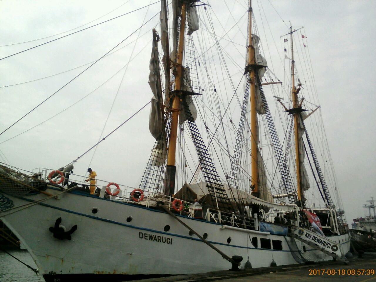 KRI Dewa Ruci Siap untuk Pelayaran Ekspedisi Nusantara Jaya 2017