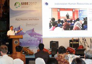 Menko Luhut Keynote Speaker di The Third International Conference on SIBE 2017