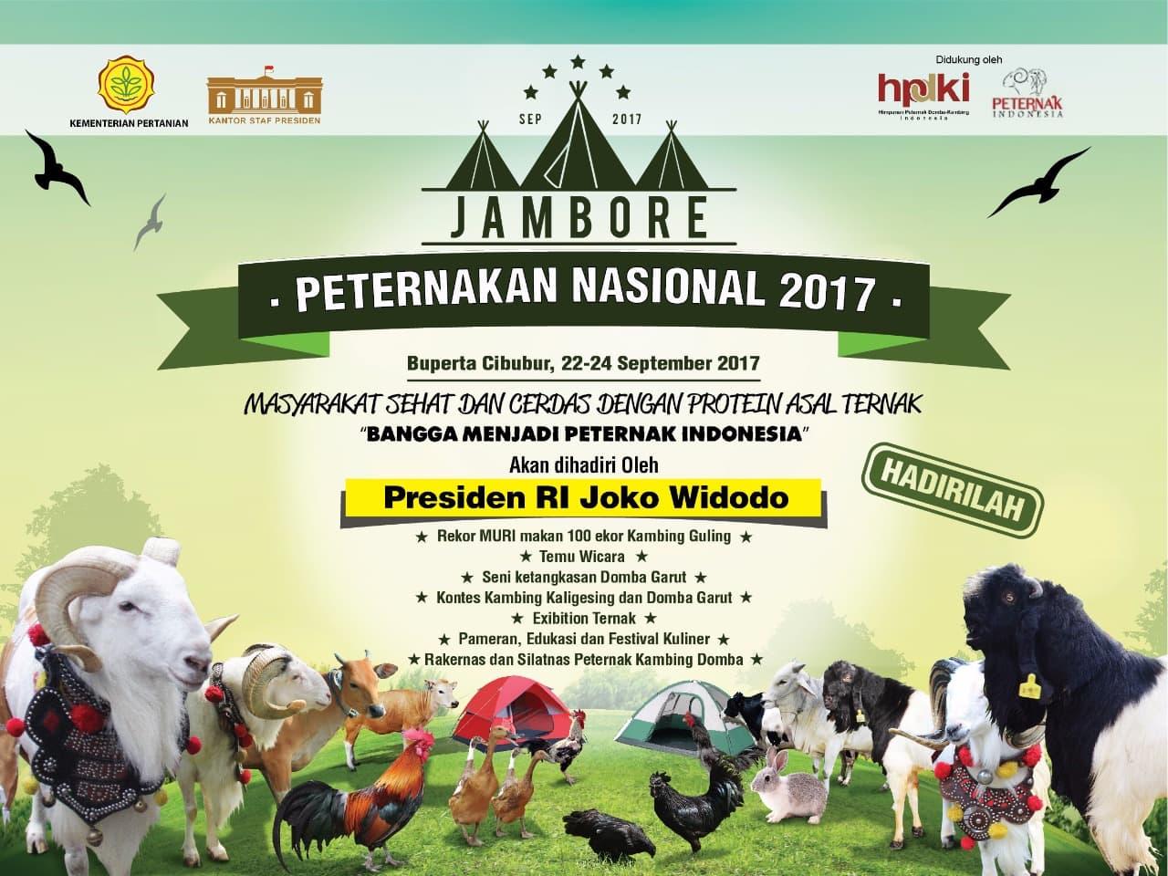 Akhir Pekan Ini, Jambore Peternakan Nasional Digelar di Cibubur