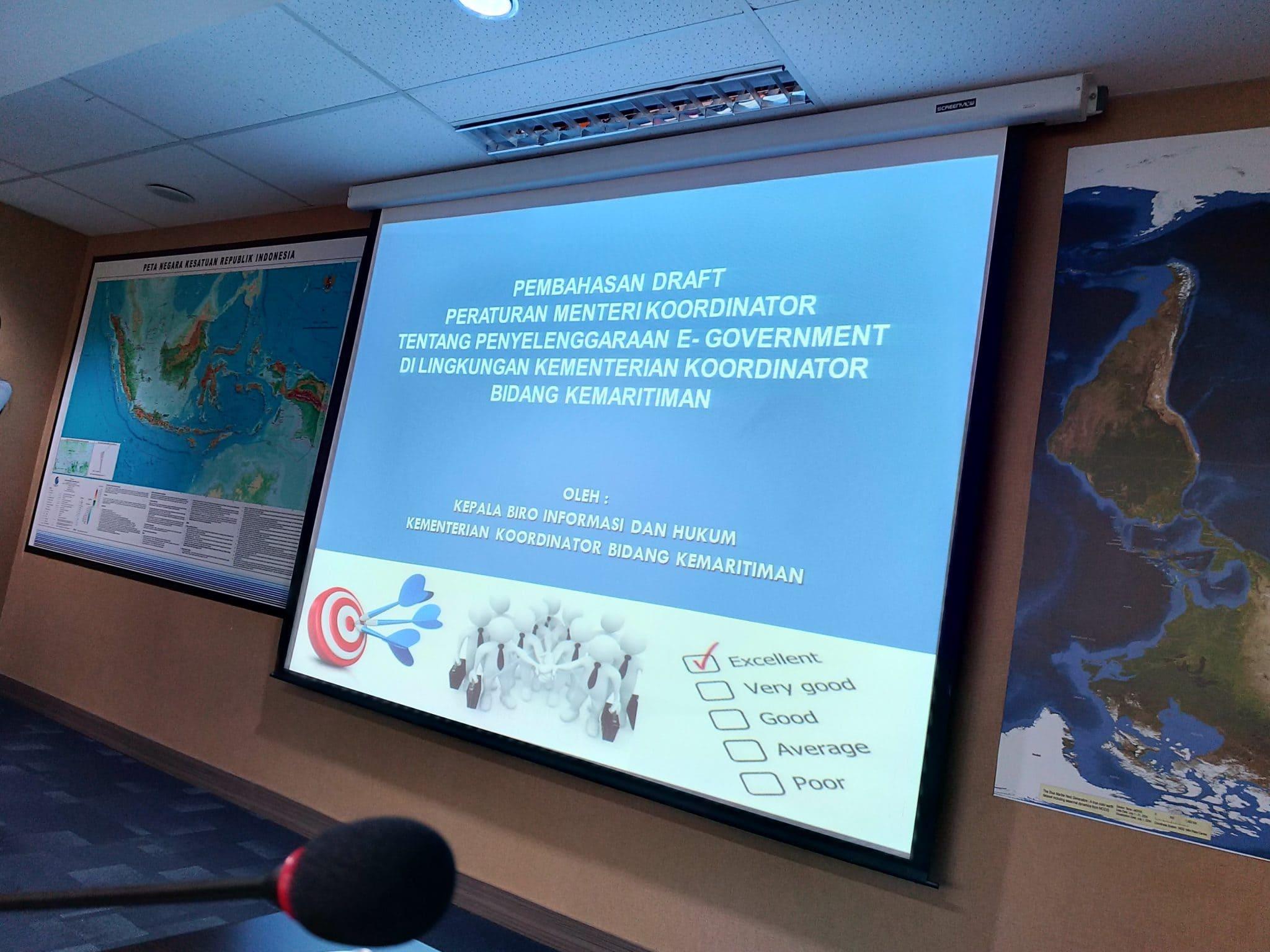 Gerak Cepat Reformasi Birokrasi, Kemenko Maritim Susun Permenko E-Gov