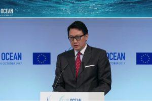 Kemenko Maritim Bawa Rencana Aksi Nasional Penanganan Sampah Plastik Laut di Konferensi Kelautan Uni Eropa