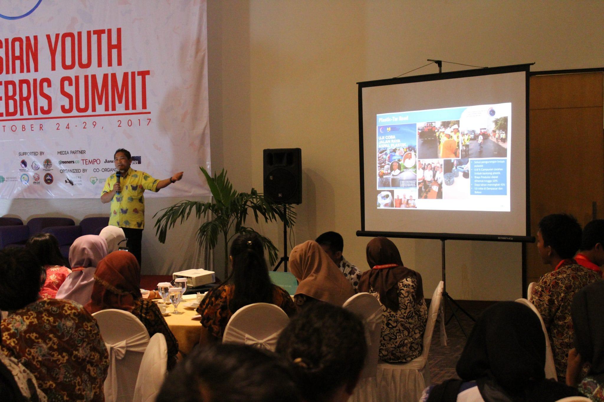 Indonesian Youth Marine Debris Summit : Ajang Aksi Anak Muda Peduli Masalah Sampah Laut