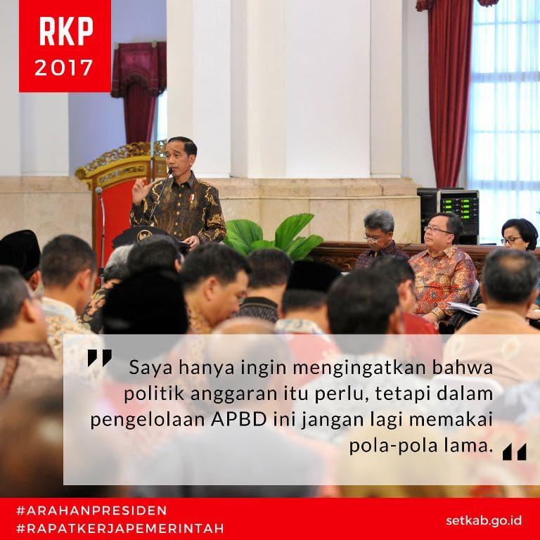 Ingatkan Kepala Daerah, Presiden: Jangan Ada yang Main Uang Apalagi APBD