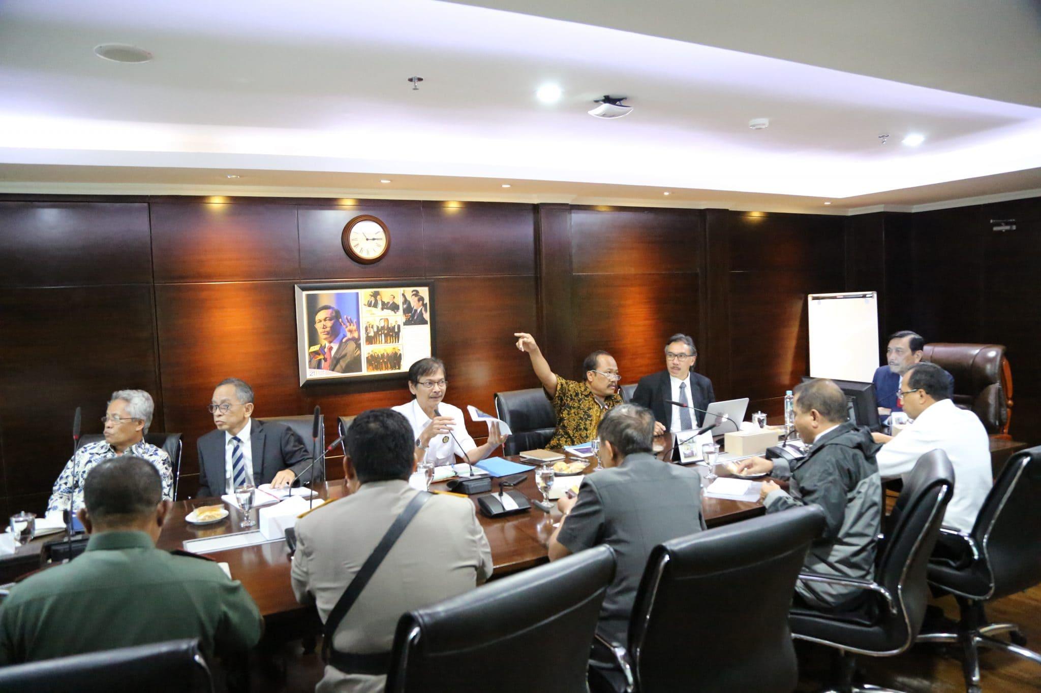 Rapat Lanjutan tentang Perkembangan Gunung Agung Bali