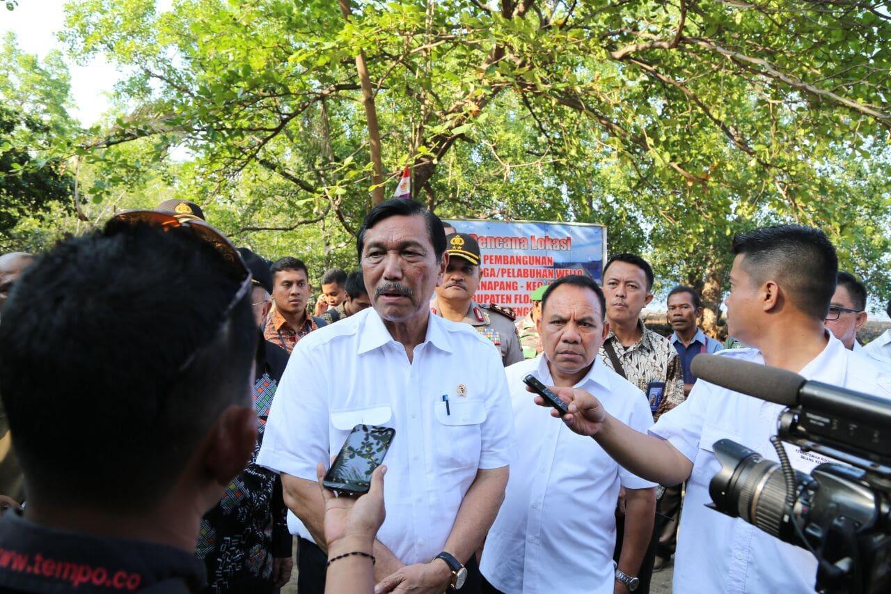 Menko Luhut Ungkapkan NTT Adalah Kekayaan Terpendam Indonesia