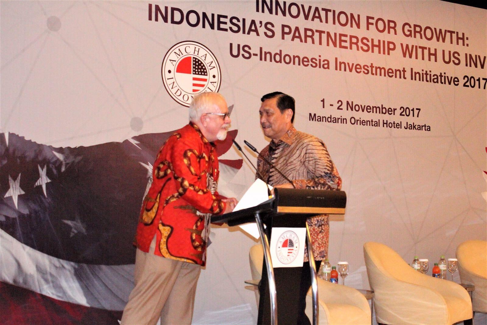 Menko Luhut Menjadi Pembicara US-Indonesia Invesment Summit 2017