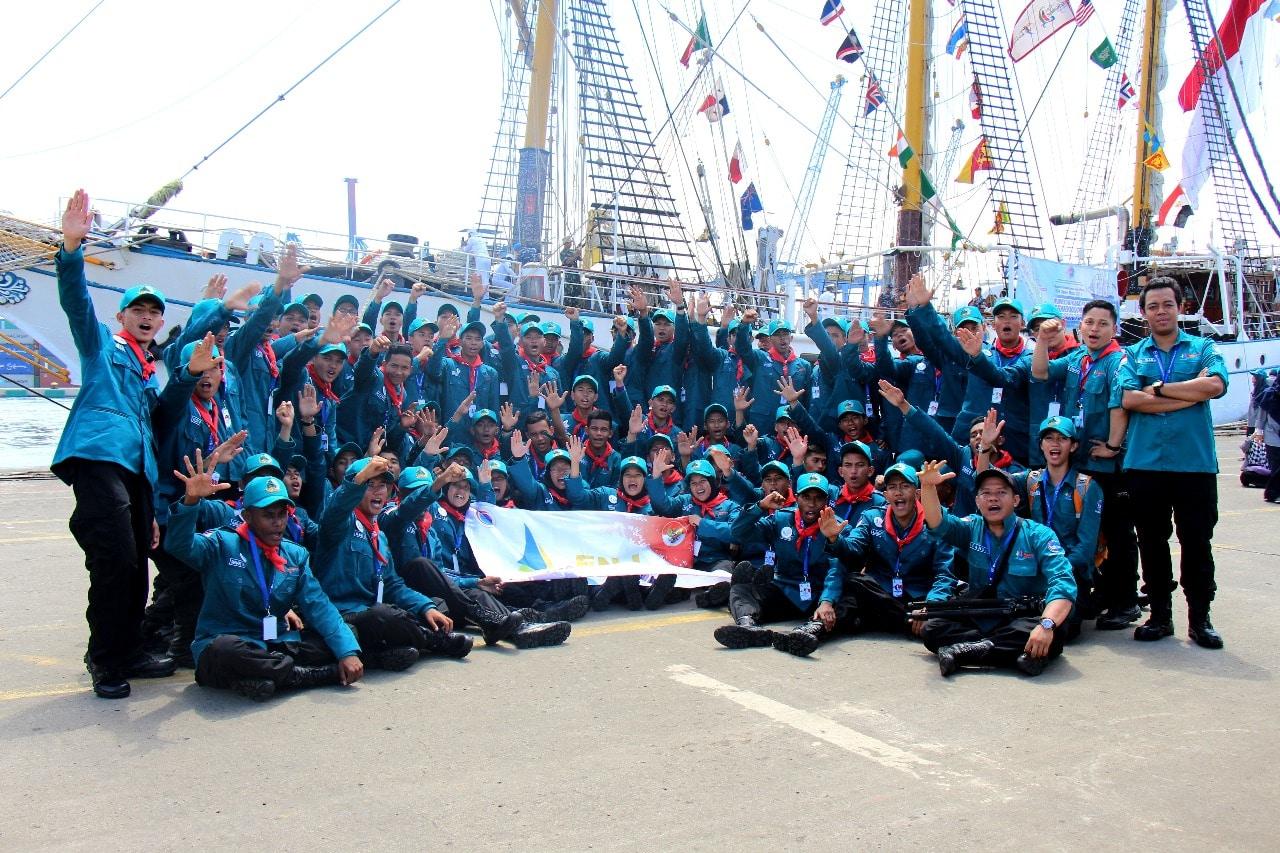 Para Peserta ENJ KRI Dewa Ruci 2017 Singgah di Batam Sebelum Melanjutkan Pelayaran ke Sabang