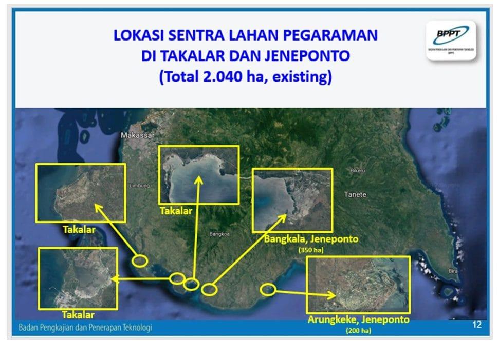 Tambak Garam Sulawesi Selatan Mendukung Swasembada Garam Nasional