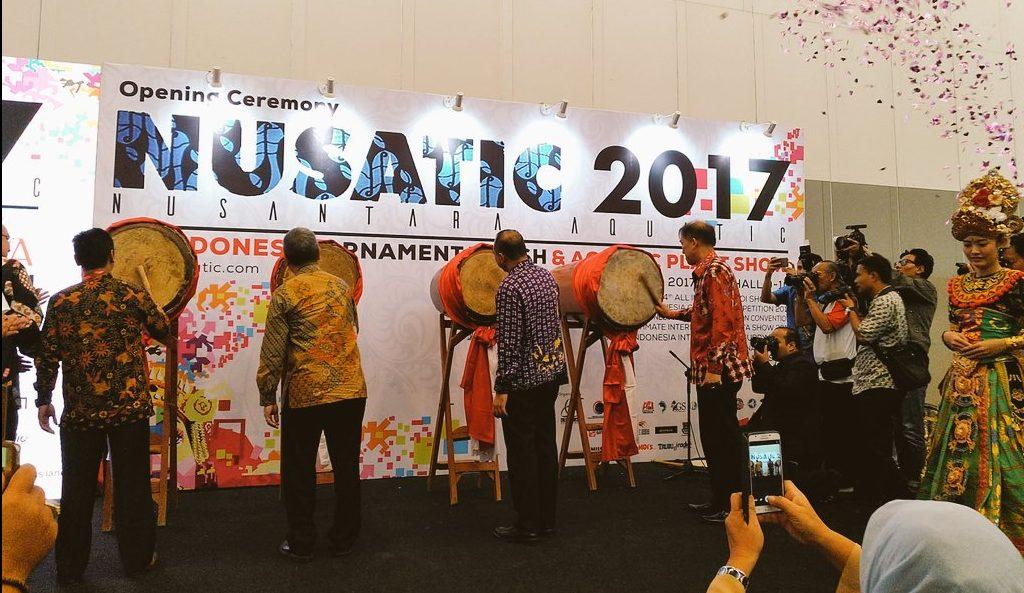 NUSATIC 2017 Resmi dibuka