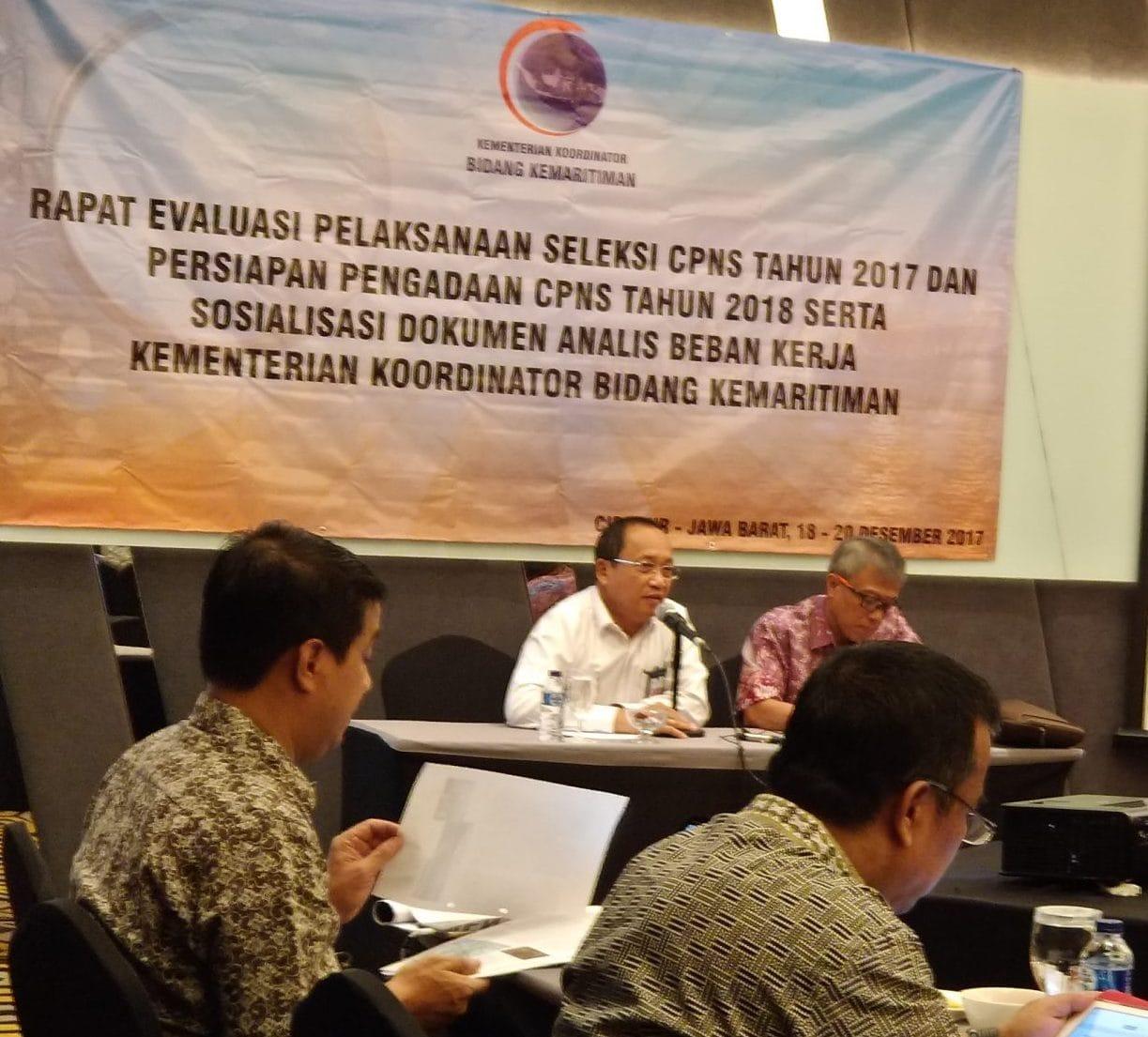 Gandeng KemenPAN-RB dan BKN, Kemenko Maritim Evaluasi Proses Penerimaan CPNS