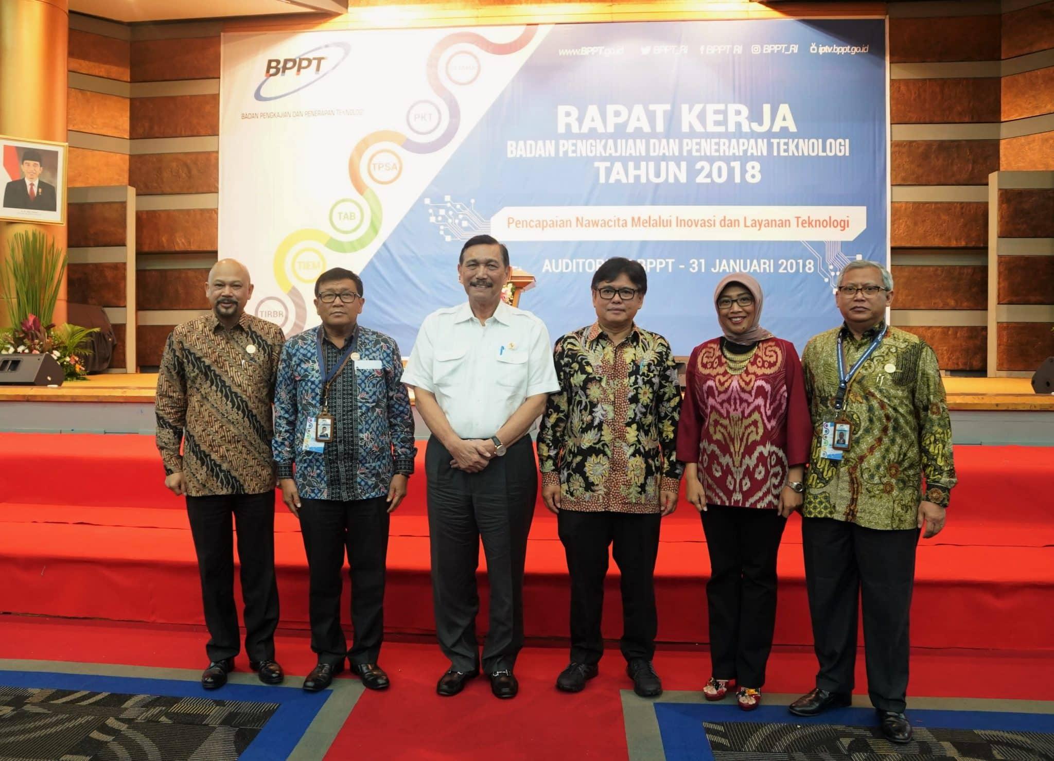 Menko Maritim : BPPT Adalah Unsur Penting Dalam Memajukan Teknologi Demi Kemandirian Bangsa Indonesia