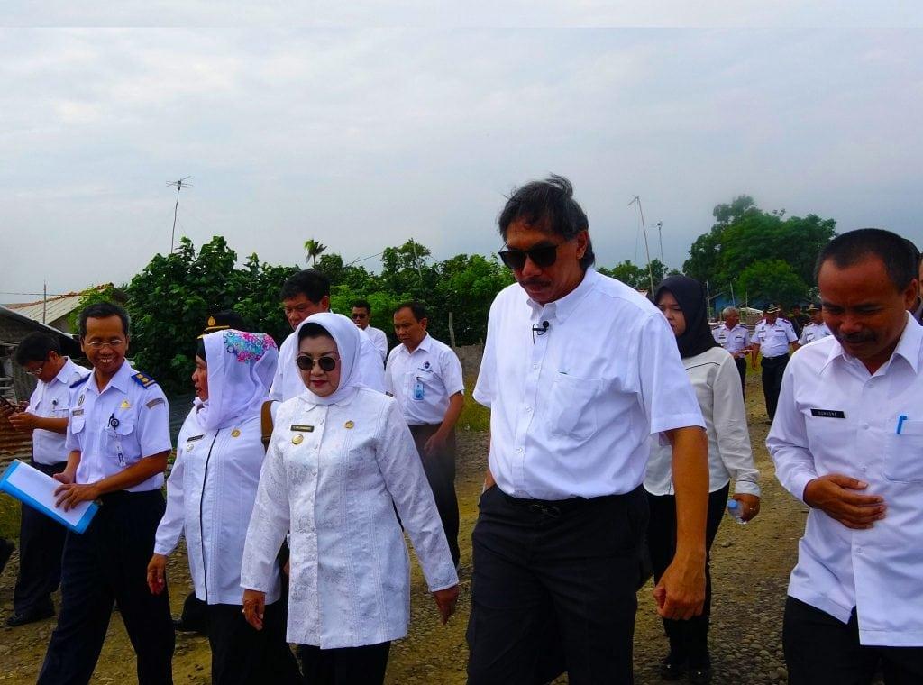 Deputi Bidang Koordinasi Infrastruktur Ridwan Djamaluddin Melakukan Kunjungan Lapangan Ke Lokasi Pembangunan Pelabuhan Patimban