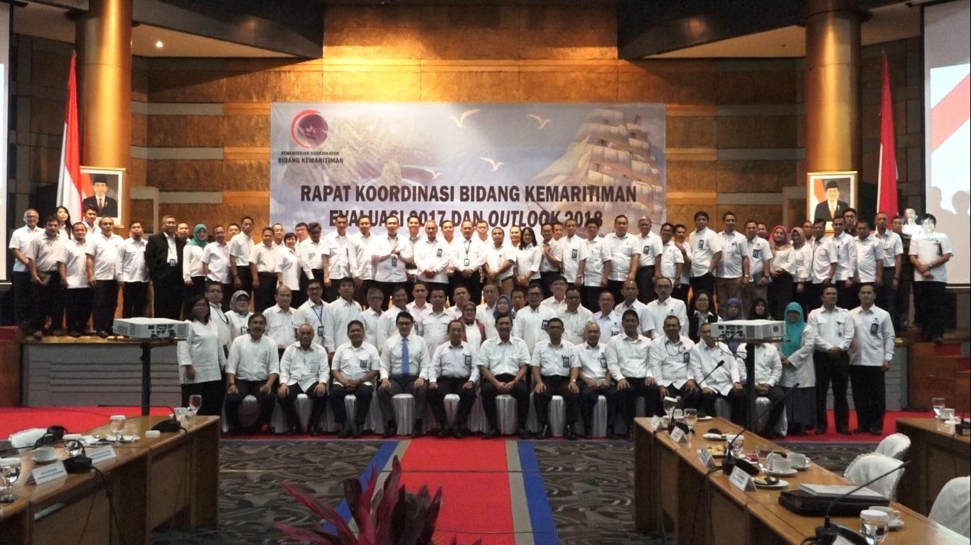 Menko Luhut B. Pandjaitan Pimpin Rapim di awal Tahun 2018