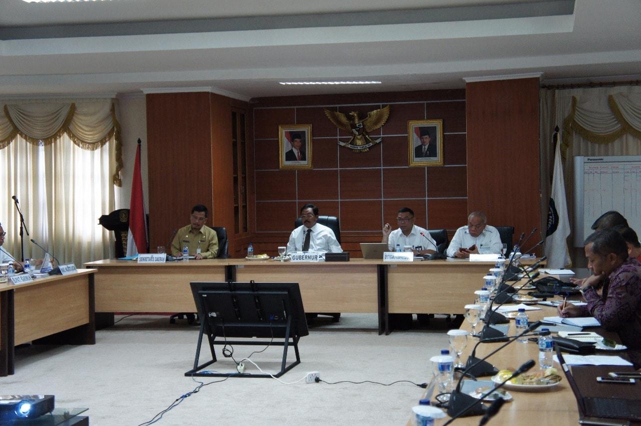 Deputi Agung pimpin Pembahasan Tindaklanjut Rakor Pendalaman dan Pembukaan Alur Pelayaran Baru