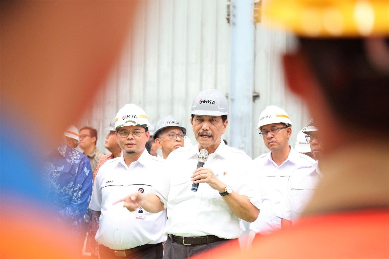 Menko Luhut Gandeng BPKP untuk Cegah Korupsi di Proyek LRT Jabodebek