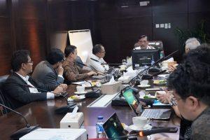 Menko Luhut Meeting dengan Pak Hanif Dakiri (Menakertrans), Pak Tom Lembong (Kepala BKPM) dan Bu Cherie Nursalim