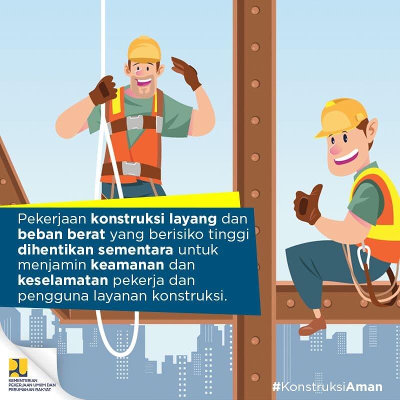 Pemerintah Perketat Pengawasan Konstruksi, Pemberhentian Sementara Hanya Untuk Pekerjaan Konstruksi Layang