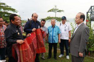 Dubes Tiongkok Terkesan Keindahan dan Potensi Investasi Sumatera Utara
