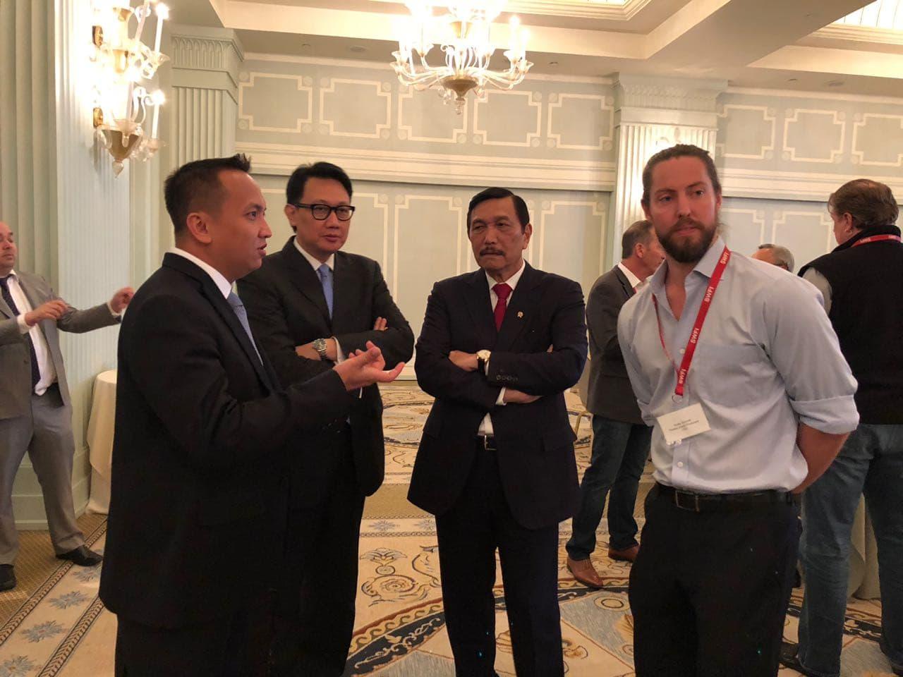 Kemenko Maritim Segera Tindaklanjuti Pertemuan dengan Investor Pasca Pertemuan SWFI