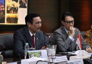 Menko Luhut Rapat dengan CEO Qatar Investment Authority