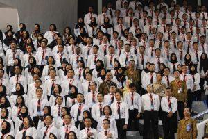 CPNS Kemenko Bidang Kemaritiman Mengikuti Acara Presidential Lecture