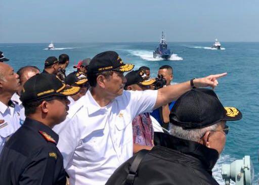 Majukan Pelabuhan Batam, Menko Luhut: Kita Ambil Tindakan Tegas