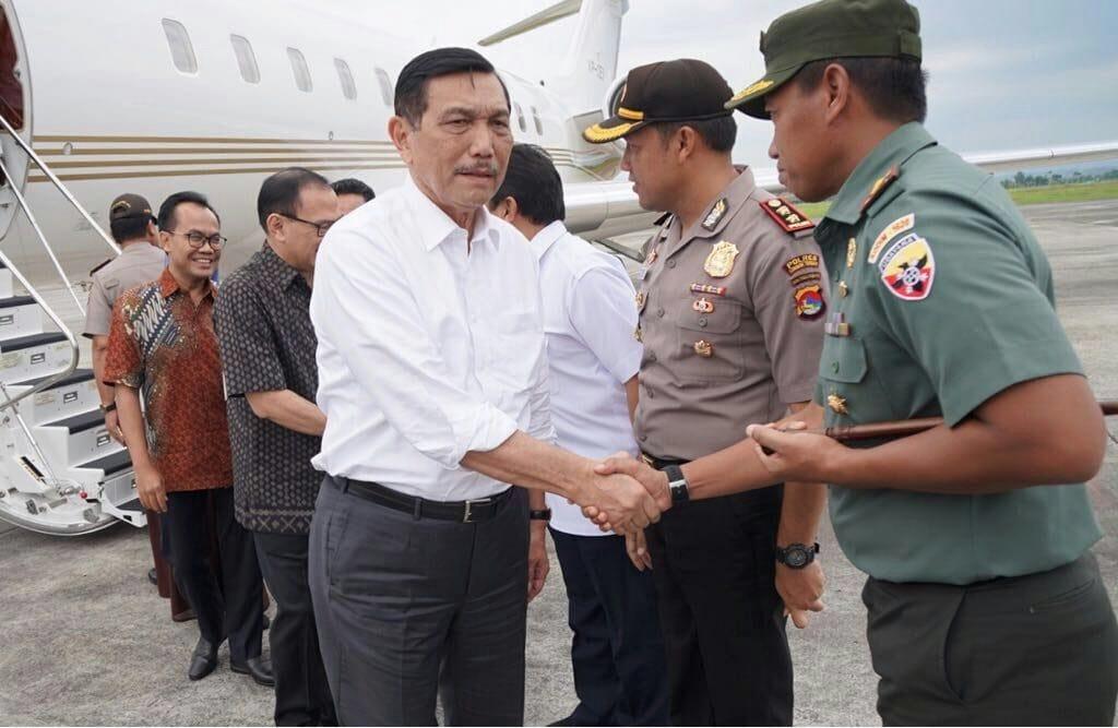 Menko Luhut Lakukan Peninjauan Pengembangan Bandara International Lombok