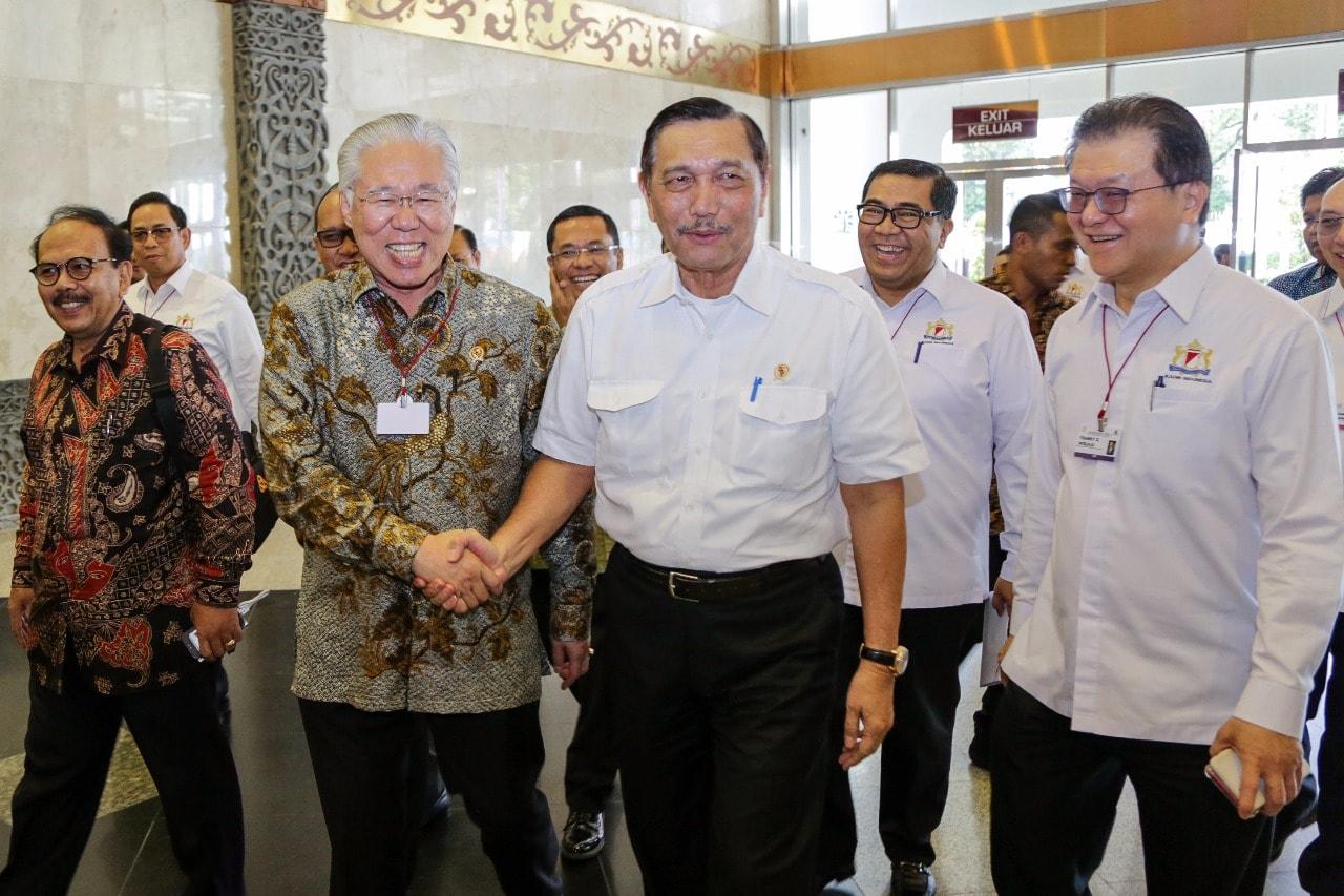 "Menko Kemaritiman Pada Seminar dan Pameran Pangan Nasional ""Jakarta Food Security Summit 4"" di Jakarta Convetion Centre, Jakarta"