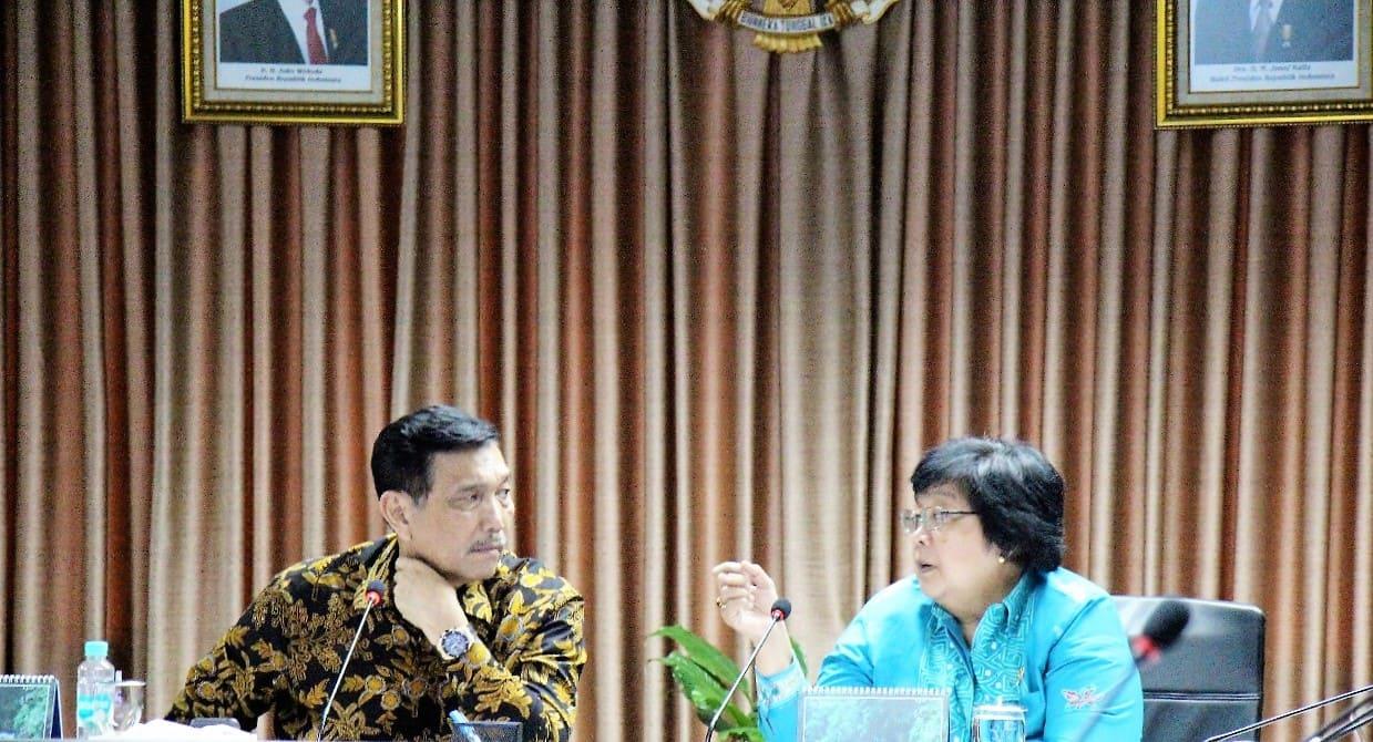 Menko Luhut Bahas Permasalahan Sampah Di Bali Pada Rapat Tentang Sampah Dan Studi Bali Terkait IMF