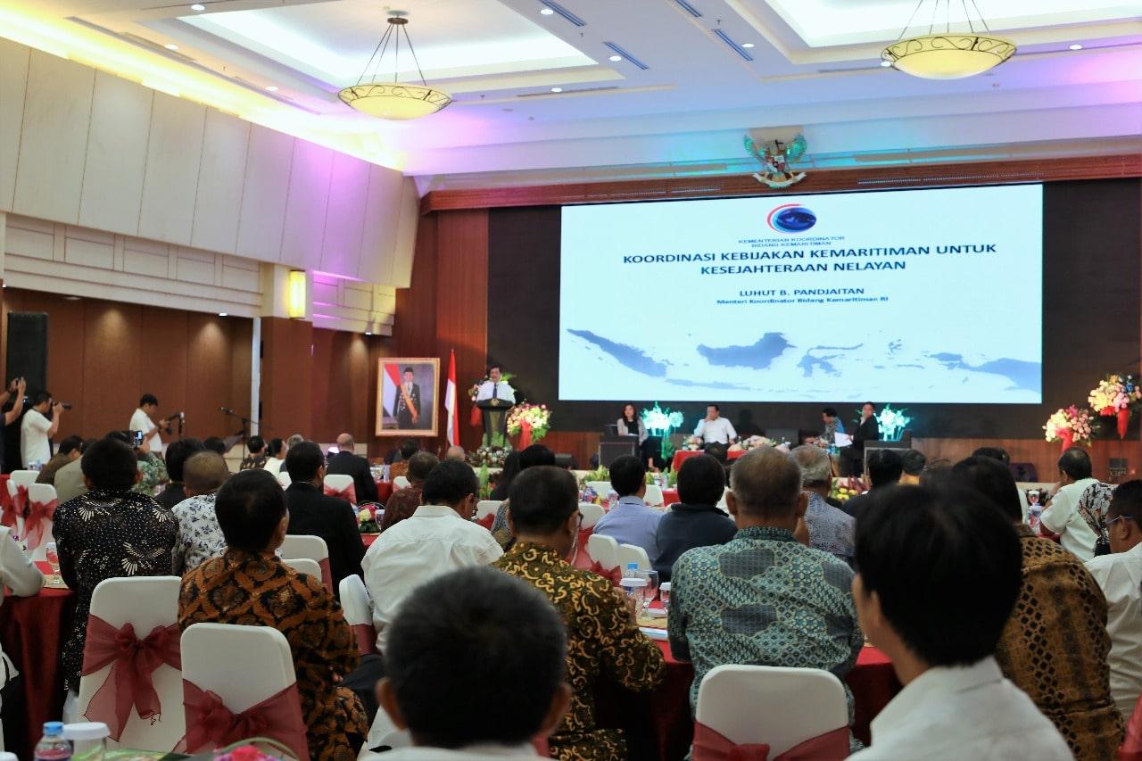 Menko Maritim Luhut Menjadi Pembicara dalam Seminar tentang Kebijakan Maritim Untuk Kesejahteraan Nelayan di Indonesia