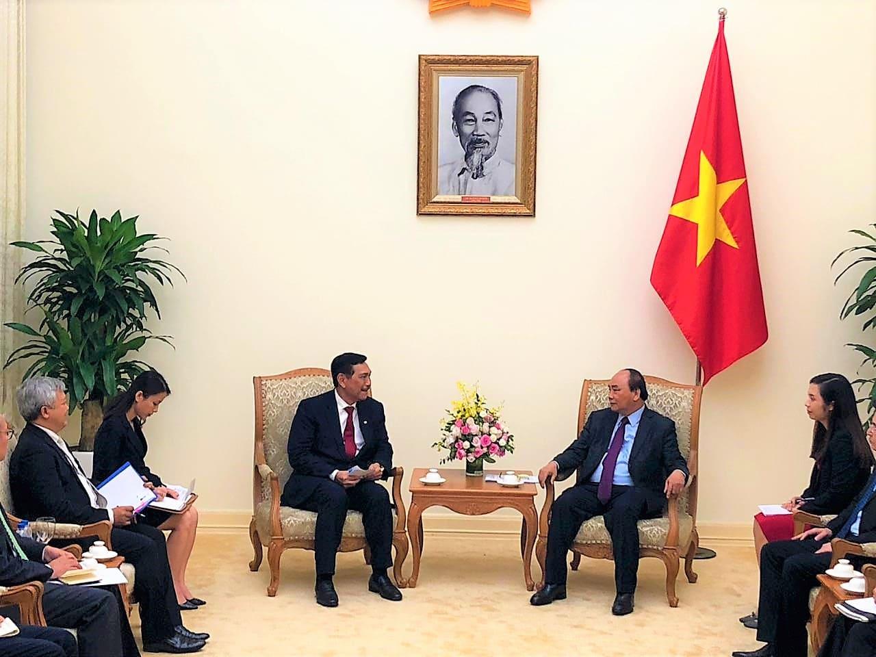 Kunjungan Kerja Menko Maritim ke Negara Vietnam