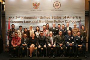 Indonesia dan Amerika Serikat Pererat Kerja Sama Kemaritiman