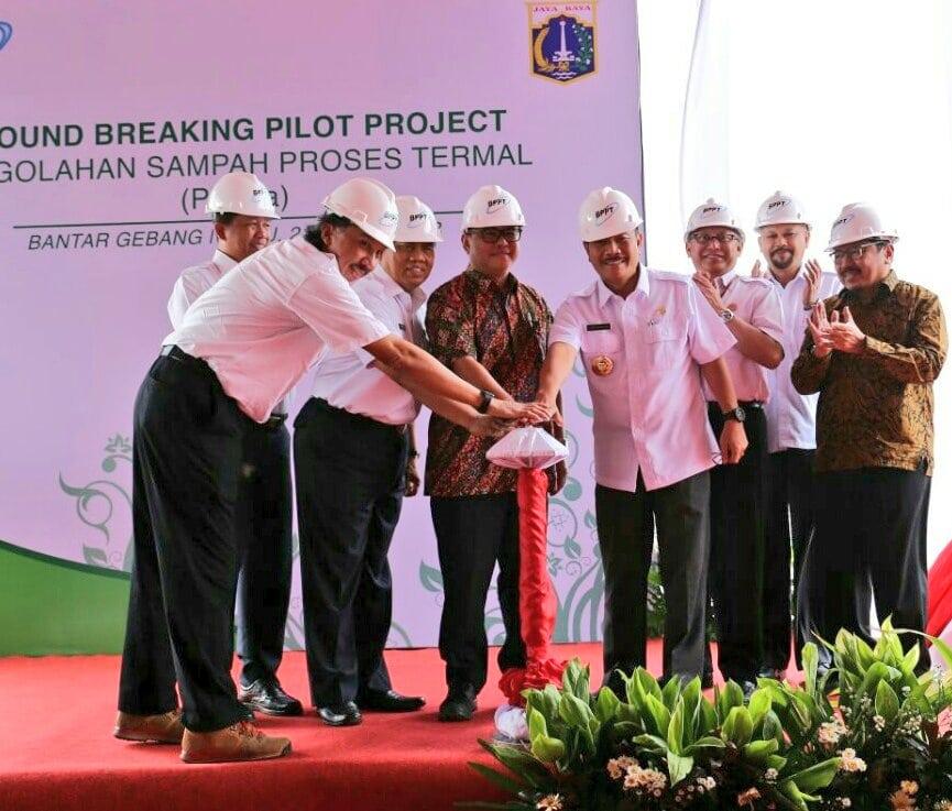Kemenko Maritim, BPPT dan Pemprov DKI Jakarta Resmikan Pilot Project PLTSa Bantar Gebang