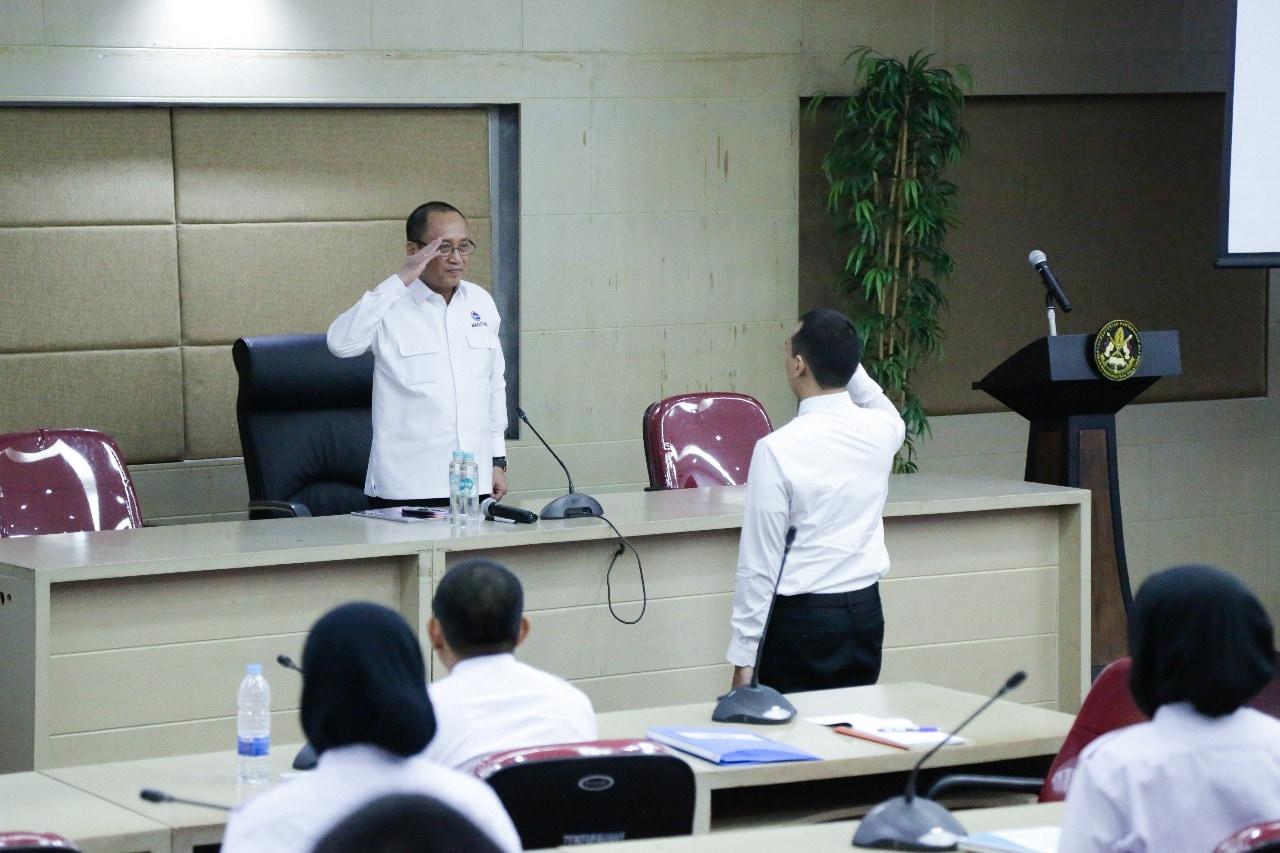 Melalui Diklatsar, CPNS Kemenko Maritim Diharapkan Tumbuh Menjadi Agen Perubahan