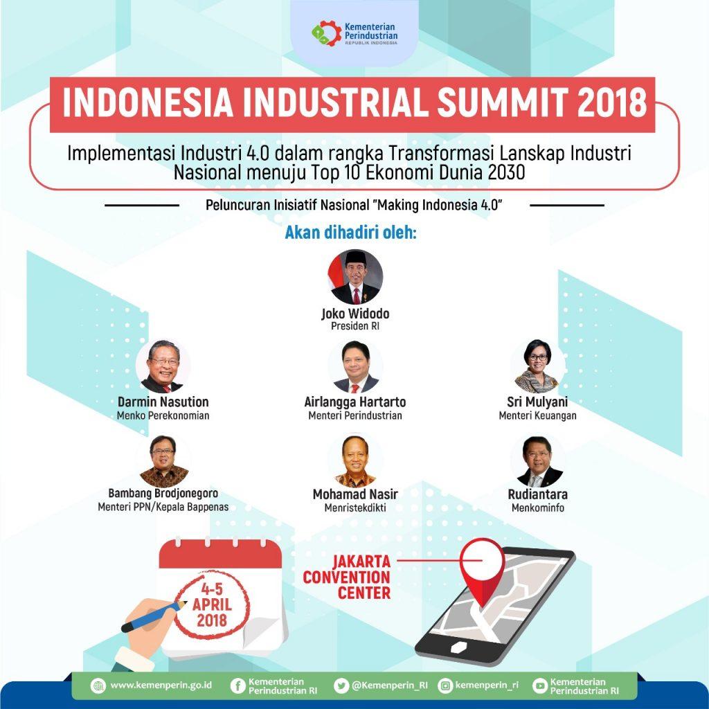 Kemenperin Luncurkan Roadmap Implementasi Industri 4.0