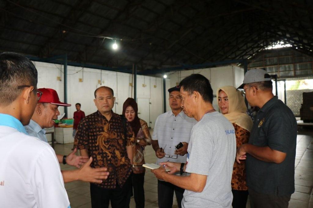 Kunjungan ke Pembangunan Sentra Kelautan dan Perikanan Terpadu Morotai