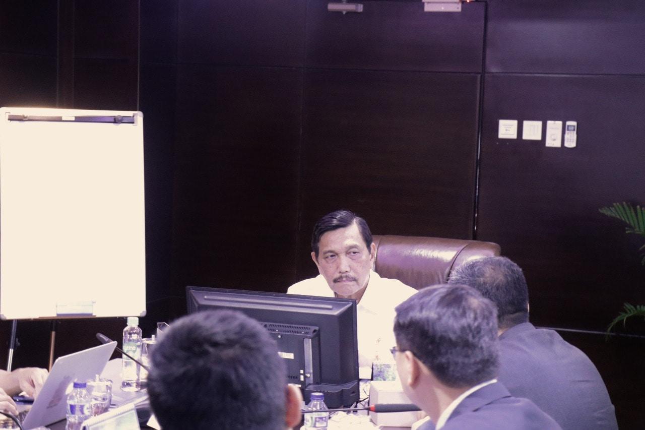 Menko Luhut Meeting Bersama Powerchina International Group Limited