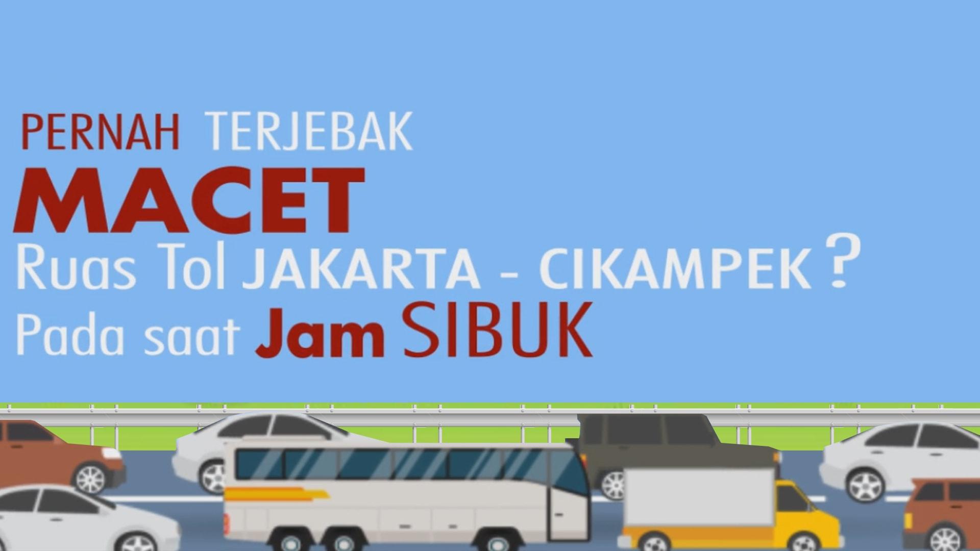 Videografis Kebijakan Pengaturan Ganjil – Genap Kendaraan Pribadi Bekasi – Jakarta