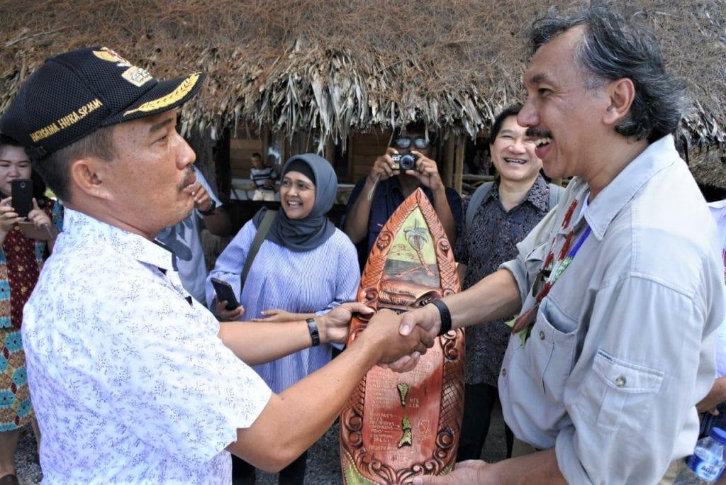 Kunjungan Kerja Kemaritiman ke Rencana Pembangunan KEK Pariwisata Mentawai