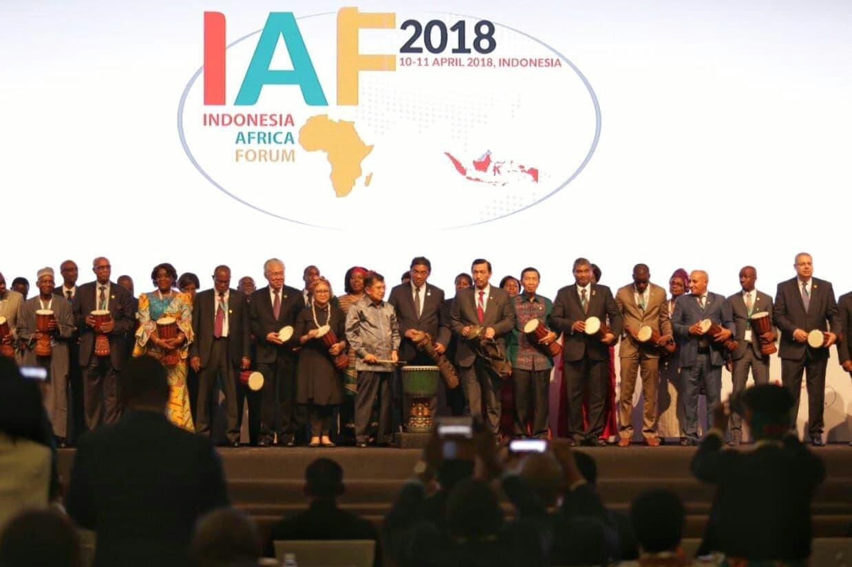 Menko Luhut : Indonesia Siap Pererat Kerja Sama dengan dibentuknya Satuan Tugas Infrastuktur Indonesia ke Afrika