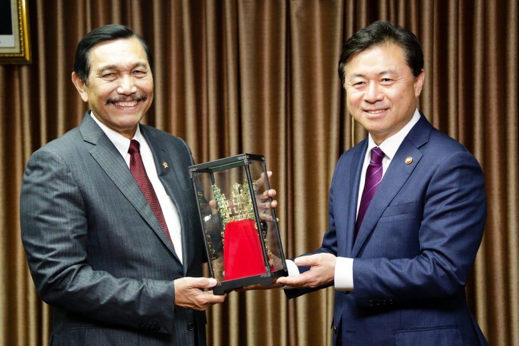 Indonesia dan Korea Selatan Kerja Sama Mendirikan Pusat Penelitian Kerja Sama Teknologi Kelautan