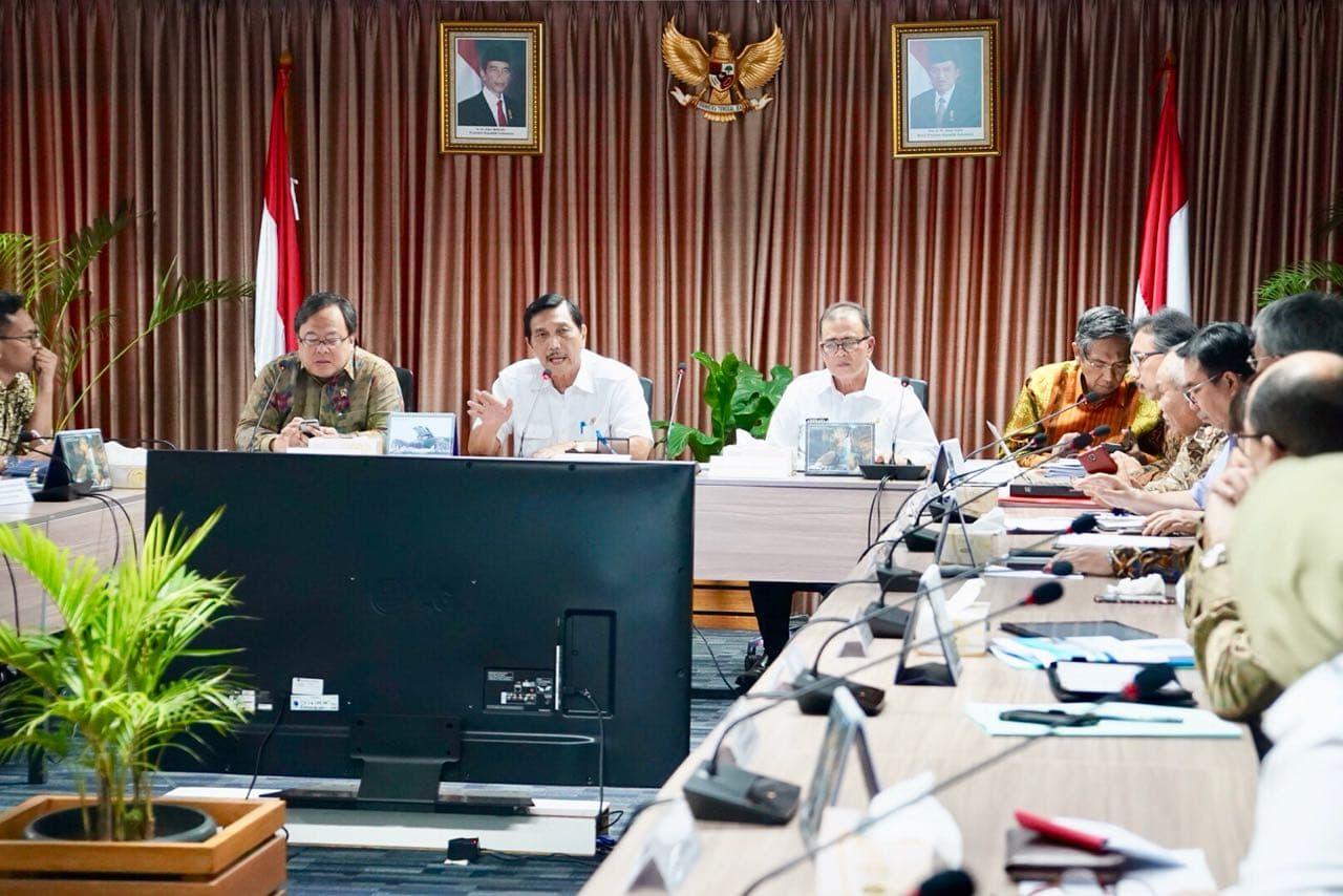 Menko Luhut Rakor Mengenai Borobudur, Danau Toba dan Sumatera Barat